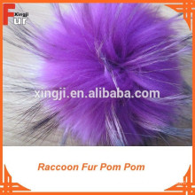Fur Pompon for Children hats