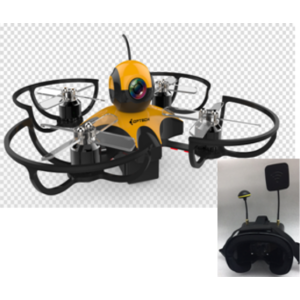 90mm Racing Drone with 5.8G FPV Goggles