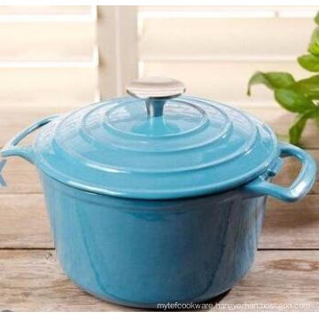 cast iron casserole enamel coating