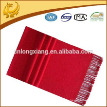 Echarpe 100% Soie Pure Long Rouge Lady Pashmina