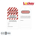 Safety Plastic Label Tags PVC Tags