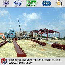 Construction en acier pour le hangar d'entrepôt Peb
