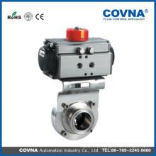 Válvula pneumática para água, óleo e gás, indústria de tratamento de águas residuais