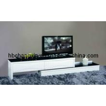 Soporte de TV madera alta calidad brillo moderno (CX-KF-75)