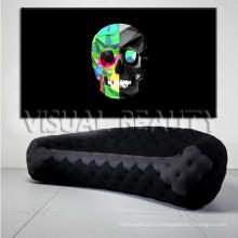 Абстрактное изображение Холст печати для гостиной Декорация стены искусства