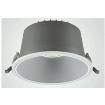Downlight LED 3000K cinza