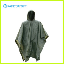 Unisex Camping 170t Polyester PVC Regenmantel Rpy-006