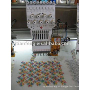 ZHAOSHAN precio bajo 912 máquina de bordado simple computarizada del bordado