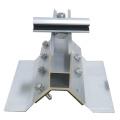 80KW industrielle toit en métal solaire Kliplok solaire mince film pince
