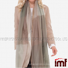 Womens Spring Kaschmir Tartan Plaid Lange Mode Schals und Wraps