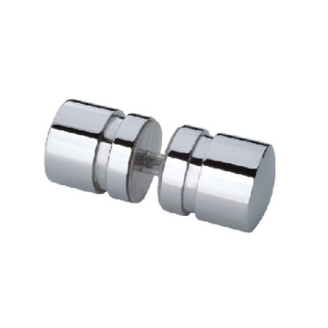 Stainless Steel Bathroom glass Door Handle Knob
