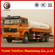 6X4 HOWO 20tons, camion de gicleurs d'eau de 22, litres de litres