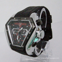 Silicone Strap Automatic Watch (HLSL-1014)