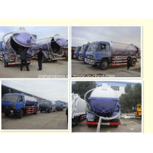 Dongfeng 10 Ton 10000L Vacuum Sewage Suction Truck