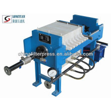 Manual Chamber Filter Press Good For Water Treatment Filter Press