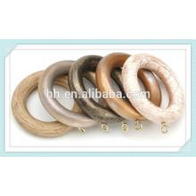 Hangzhou Baihong Holz Vorhang Stange Ring Clips