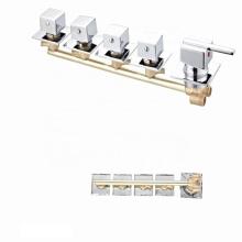 Factory cheap 5 Function bath shower faucet  bathroom shower panel mixer faucet taps