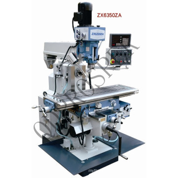 Multi-Function Gear Drive Vertical Milling and Drilling Machine (ZX6350)