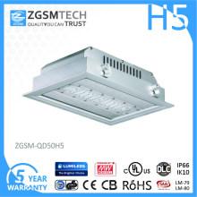Lumière de station service d'auvent de l'auvent de SMD LED 50W LED