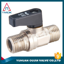 """TMOK 3/4"""" 2PC Mini Ball Valve With External Thread End Stop Valve For China Professional Suppliers"""