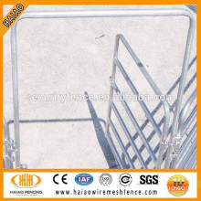 china supplier steel tube corral fencing panels