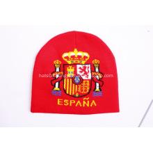 Custom Sports Supporter Beanies - Spain
