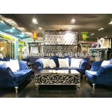 Sofá de sala de estar de estilo europeu A10095