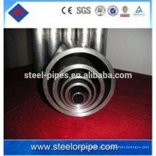 Buen tubo de acero de precisión perfecta sin soldadura fabricado en China