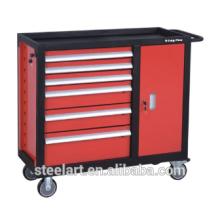 chariot à outils en métal robuste Kraftwelle