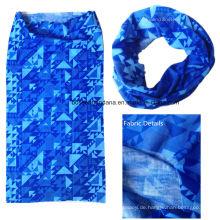 OEM produzieren kundenspezifisches Polyester-Multifunktionales nahtloses Buff-Stirnband-Bandana