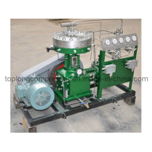 Oil Free Cryogenic Oxygen Helium Nitrogen Argon Diaphragm Compressor Booster (Gl1-20/15-200)