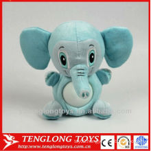 kid cute big ear elephant plush animal night light toys