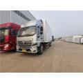 caminhão de alimentos congelados 4x2 entrega de frutos do mar Caminhão frigorífico