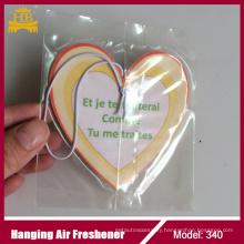 Heart Shape/Shoe Shape/Emoji Product/Little Trees Car Cotton Paper Air Freshener
