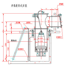 Well Drum Axial-Flow Pump with Wall Pipe and Float Flap