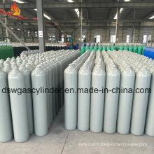 Cylindre à gaz argon avec couleur grise