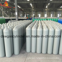 Argon Gas Cylinder with Gray Color