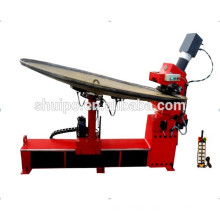No Template Irregular Dished Head Folding Machine dish end flanging machine for tank