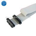 Conector fêmea de cabo de fita personalizado AWM 2651 IDC flat cable