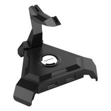ORICO 4 Port USB2.0 Gestion des câbles - Noir (LH4-U2)