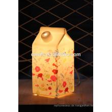 Keramische Ornament Porzellan Innenleuchte