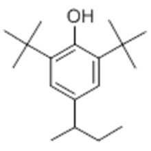 Name: Phenol,2,6-bis(1,1-dimethylethyl)-4-(1-methylpropyl)- CAS 17540-75-9