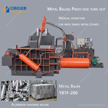 New Aluminum Metal Baler Machine