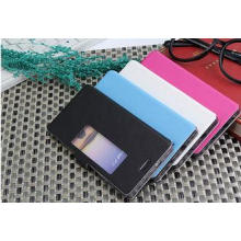 Smart View Window Mobile Phone Huawei Ascend P7 Cases with
