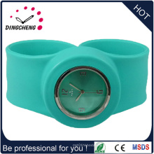 2015 Vogue Green New Style Promotion Silikon Armbanduhr (DC-937)