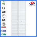 JHK-B07 Popular Design Solid Wooden White Louvered Doors