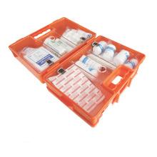 Caja de botiquín de primeros auxilios de plástico ABS montaje en pared