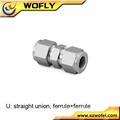 12mm 10mm 8mm 6mm tube OD gas compression adapter connector fittings