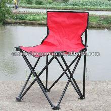 Cadeira de acampamento ao ar livre do tubo de aço resistente