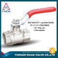 Punho do ferro da carcaça 1.6 solda média niquelar do soquete da válvula de bola do nsf da pressão média do mpa